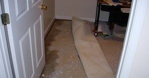 Flood Damage In A Residential Property