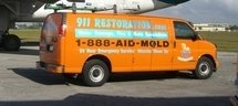 Water and Mold Damage Vehicle