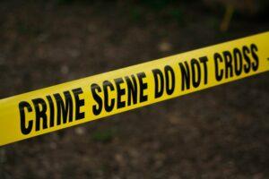 Crime scene cleanup signage